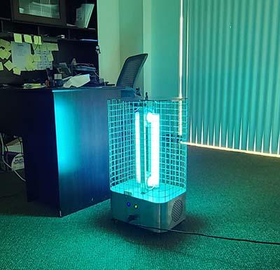 Portable Room Kleen (PRK)-UV-KLEEN